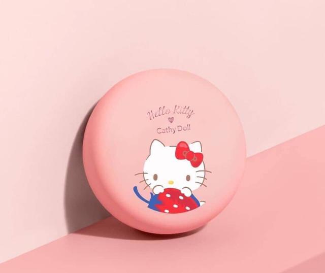 泰國Cathy Dolly X Hello Kitty控油定妝粉餅