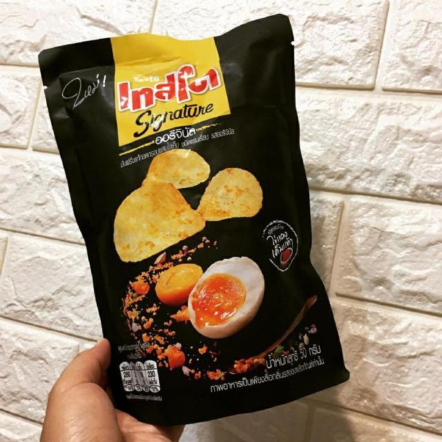 泰國 Tasto鹹蛋黃洋芋片-原味