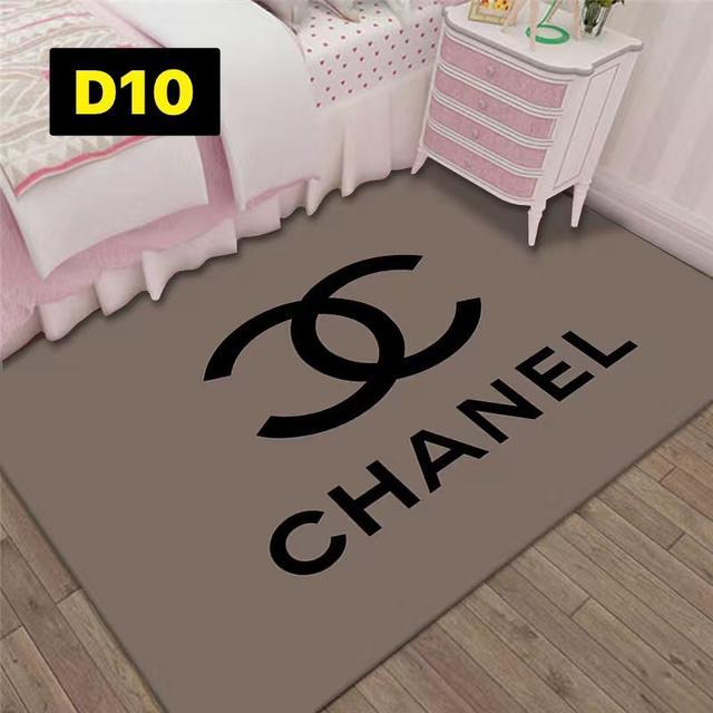 潮牌網紅地毯客廳茶几沙發毯 北歐個性臥室床邊毯房間裝飾品80×120~D1~D10