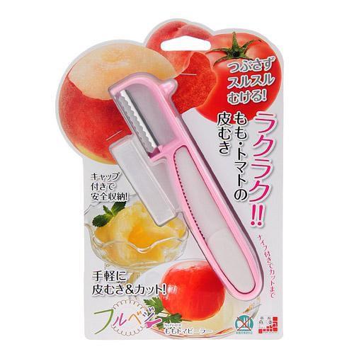 日本製軟肉果物專用削皮刀~