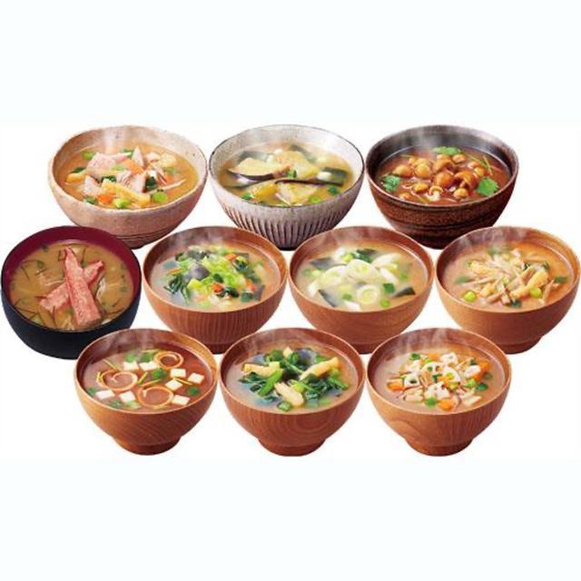 日本代購【期間限定品】アマノフーズ 美味しい瞬間 みそ汁 十種口味日本湯包