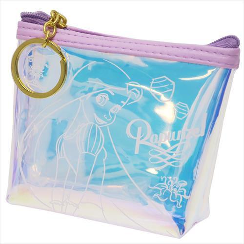 迪士尼公主 長髮公主 零錢包 極光 小包