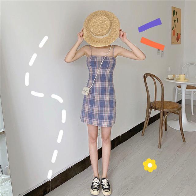 ⭐️預購S50-2020新款仙女顯瘦裙超仙網紅閨蜜吊帶學生裙子