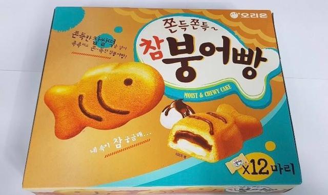 🇰🇷 韓國零食 ORION鯛魚燒蛋糕348G
