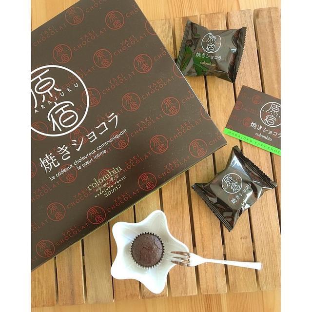 日本連線代購Colombin 原宿巧克力燒菓子