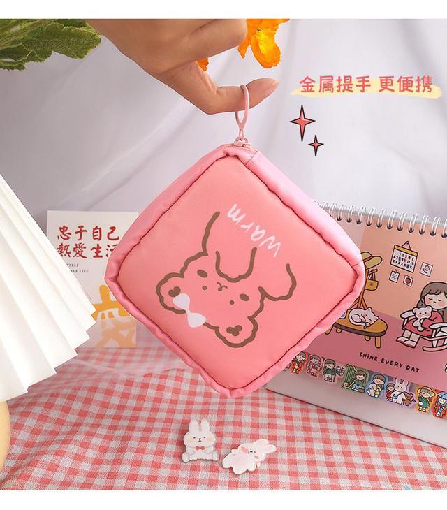 預購#超可愛卡通衛生棉收納包(4入)