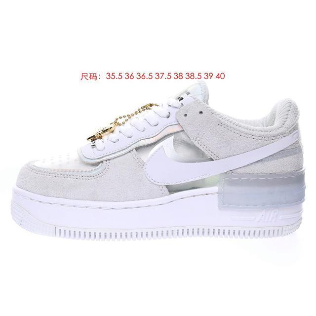 空軍一號輕量增高低幫百搭板鞋