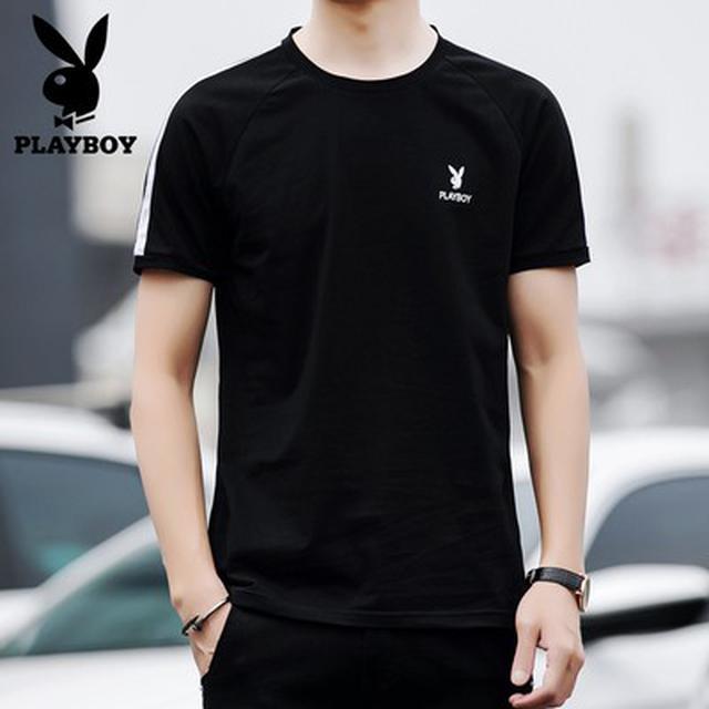 06 M-4XL 優質棉休閒短袖T恤(3色)