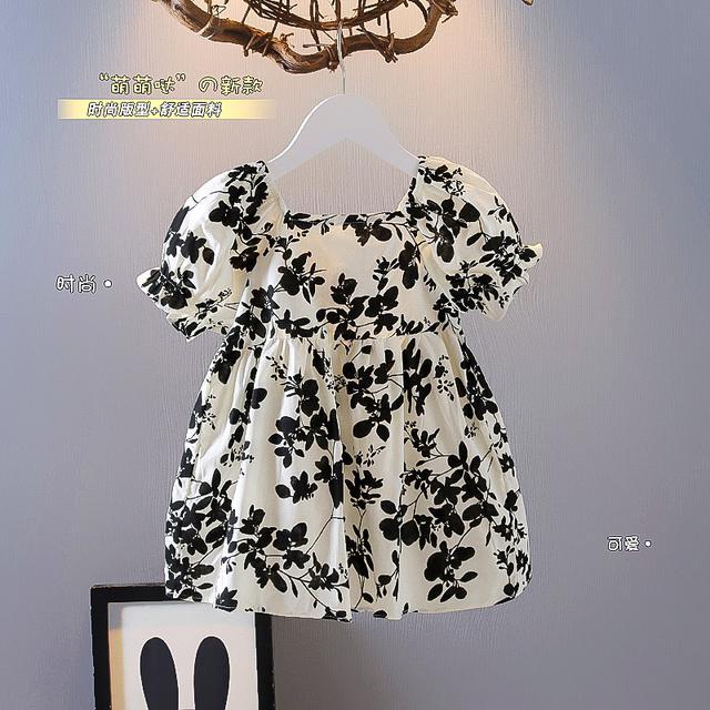 公主風連衣裙