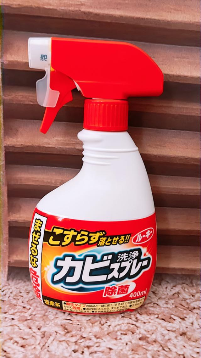 現貨 日本 第一石鹼 浴室清潔 除霉發泡 噴霧劑(400ml) 紅噴頭