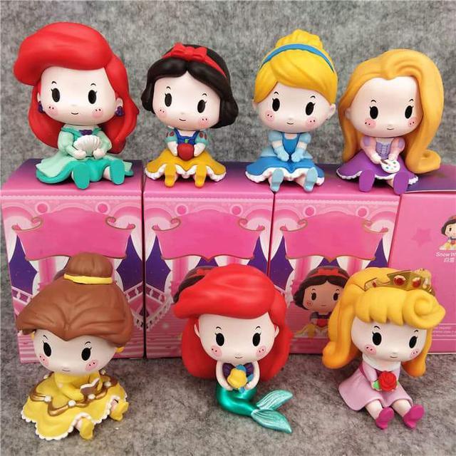 #嬰幼童玩具 可愛公主公仔玩具七件組