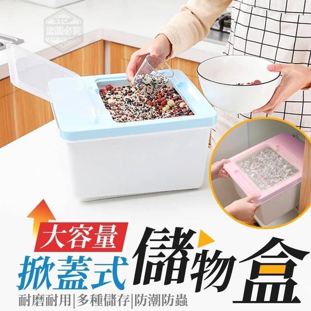 【預購】大容量掀蓋式儲物盒