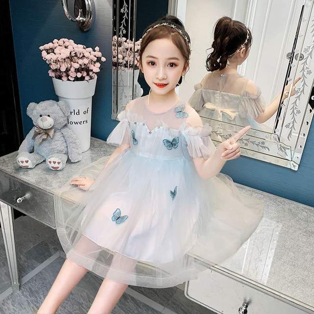 預購-中大童蝴蝶洋裝