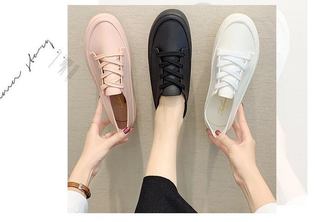造型雨鞋防水防滑增高小白鞋雨鞋