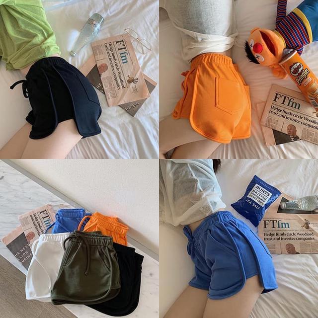 純棉運動風短褲