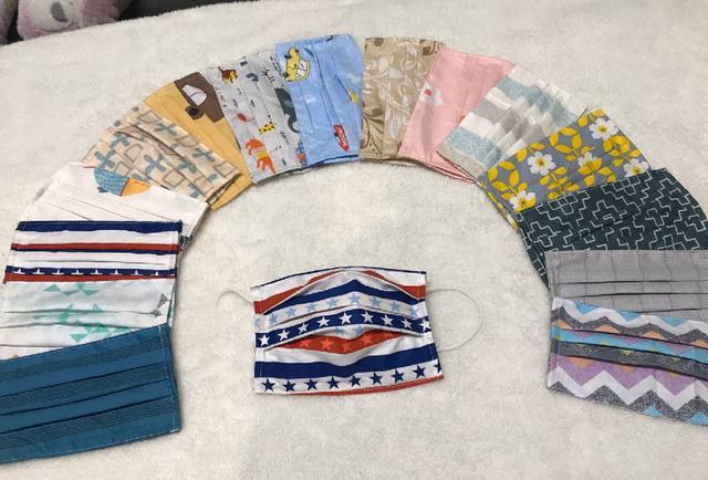 台灣手工製作精梳純棉口罩防護套
