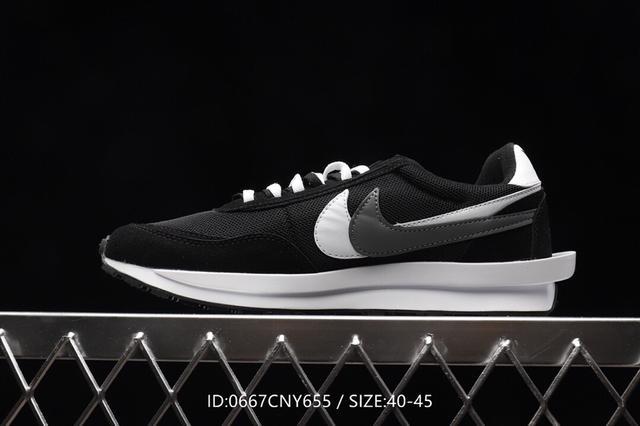 耐克Nike UNDERCOVER x 聯名輕盈舒適慢跑鞋!全新華夫雙勾系列運動鞋