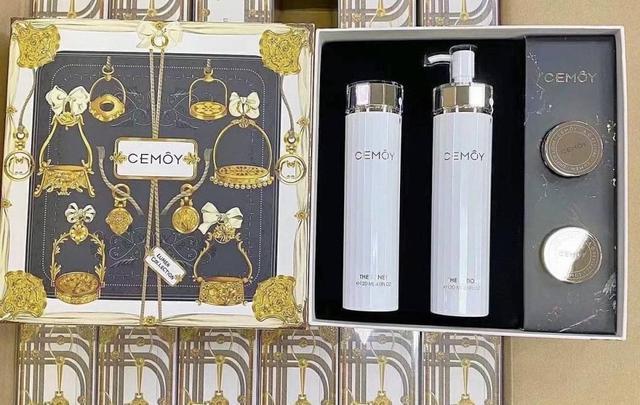 澳洲Cemoy 白金流明水乳套裝