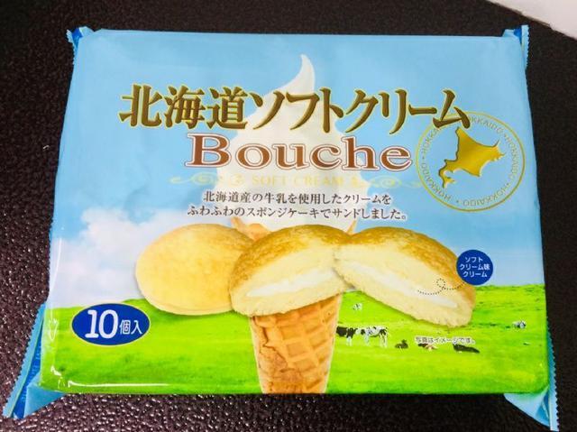 北海道 冰淇淋風味夾心蛋糕