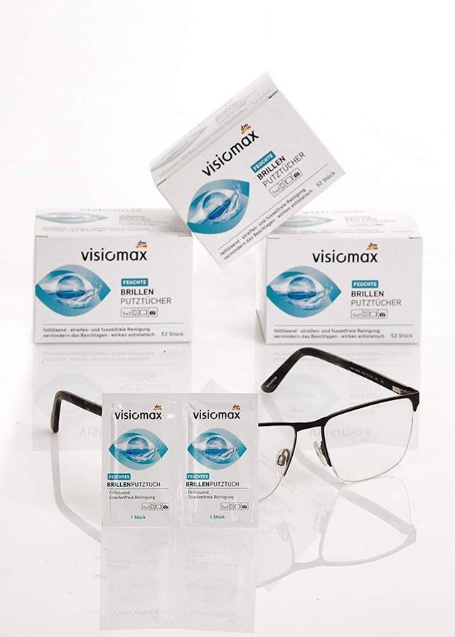 德國VISIOMAX 眼鏡擦拭布