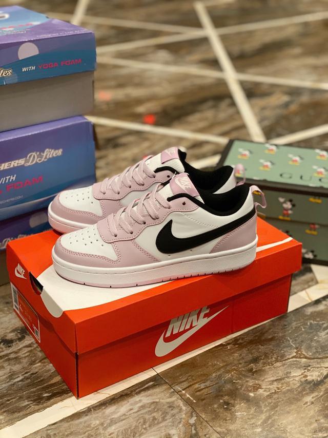 原單Nike粉紫板鞋