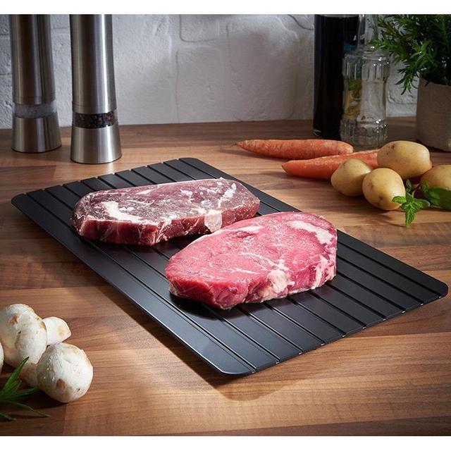 鮮肉解凍輔助解凍板 牛排解凍板 廚房小工具解凍板 廚房烹飪神器 海鮮快速解凍盤