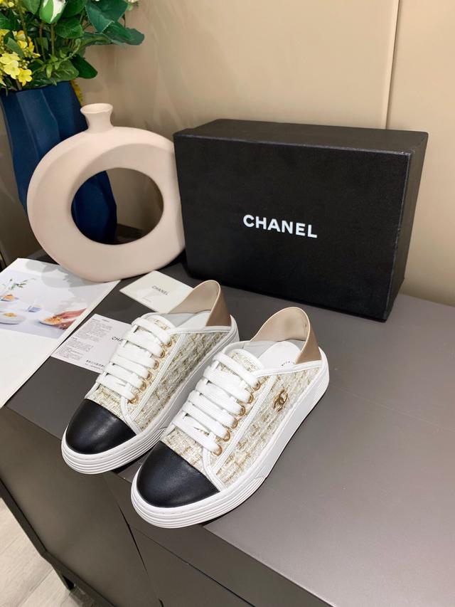 香奈兒chanel家2021年早春款🔥爆上市布鞋