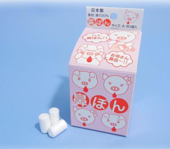 日本製鼻血/鼻水專用吸水棉棒~