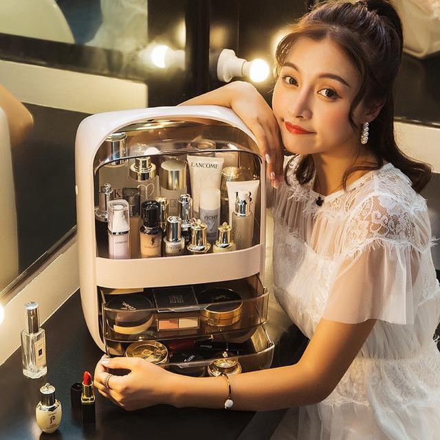 【N.T.F-現貨+預購款】潘朵拉化妝盒手提化妝收納盒-特大號