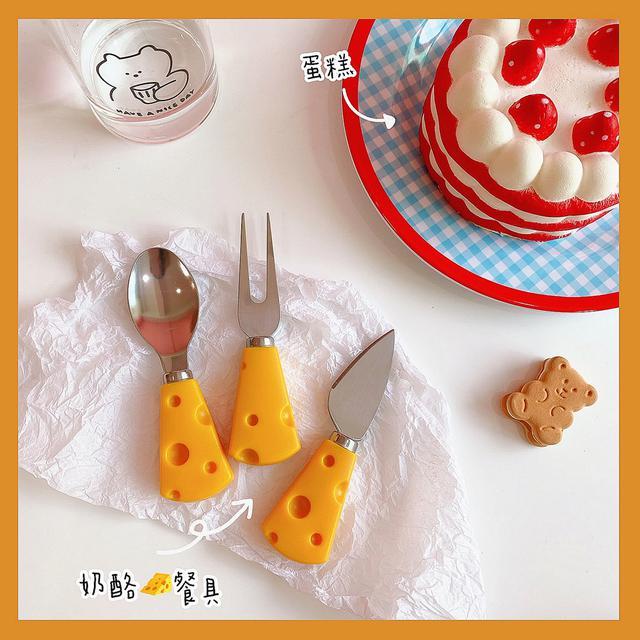 ✨ins超萌奶酪可愛餐具🧀️✨