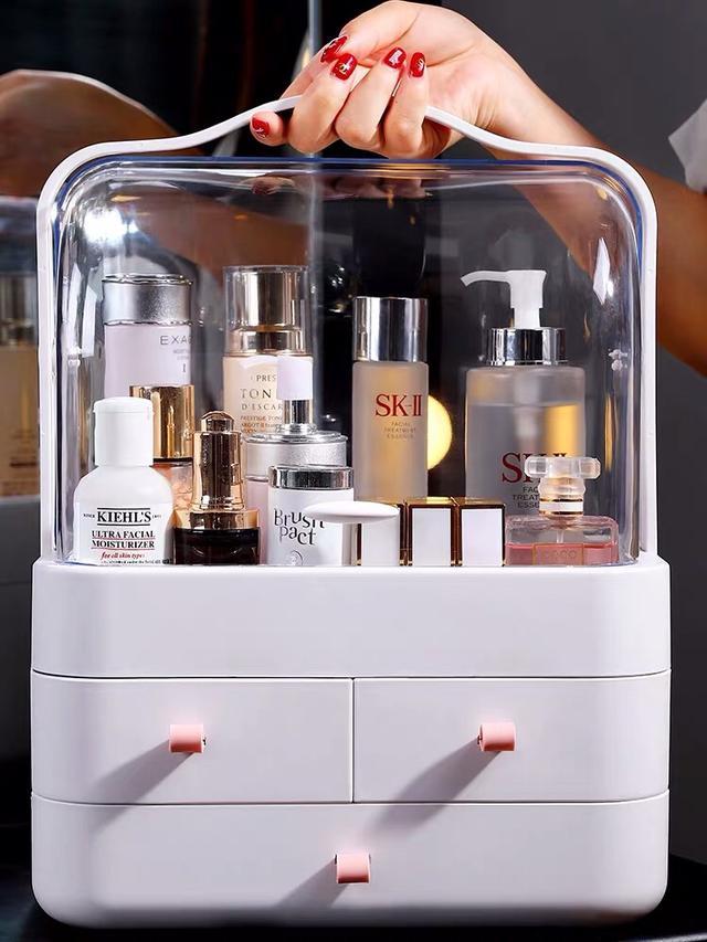 大號日式和風手提化妝盒 化妝品收納盒 保養品收納盒 收納盒 化妝品收納