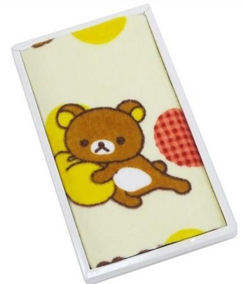 拉拉熊盒裝洗臉毛巾