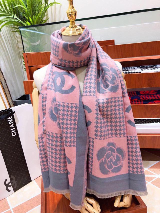 CHANEL(香奈兒)💋💋💋 絲巾圍巾氣質優雅的小香披肩