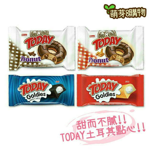 today 土耳其巧克力甜甜圈太妃糖甜甜圈牛奶風味蛋糕黑可可蛋糕
