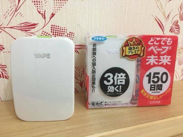 日本VAPE未來-電子驅蚊器150日