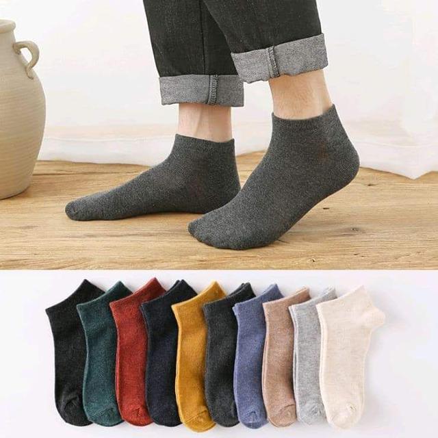 現貨1(預購S) 出口日本男士加厚全棉168針透氣襪(一組10雙)