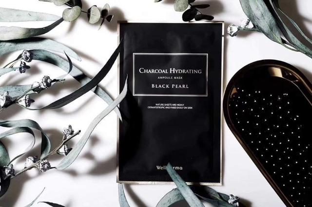 韓國 WellDerma 黑真珠吸色面膜(一盒10片)