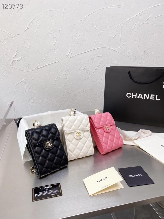 Chanel最新款手機包 原版五金 鏈條斜挎特別實用