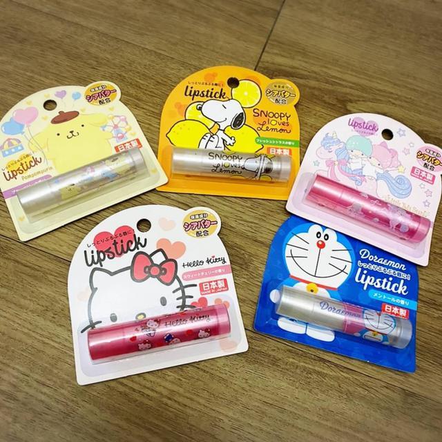 日本製卡通系列護唇膏