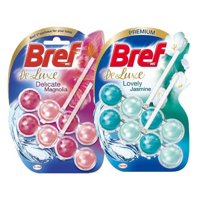 德國 BREF 懸掛式馬桶清潔芳香球 新香味2入裝