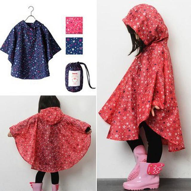 ✪兒童抖篷編輻雨衣