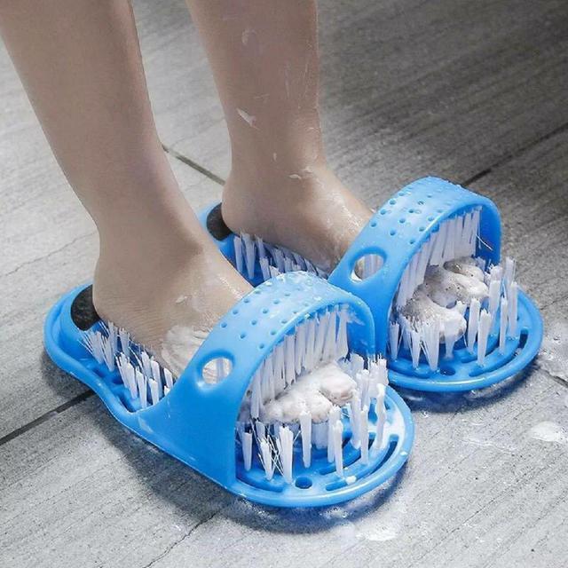 抖音爆款 懶人拖鞋洗腳神器(1雙)