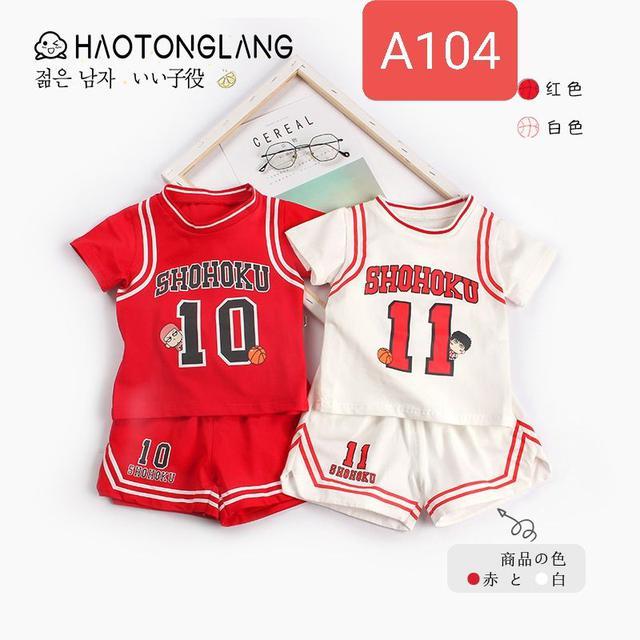 A104 灌籃高手 休閒套裝