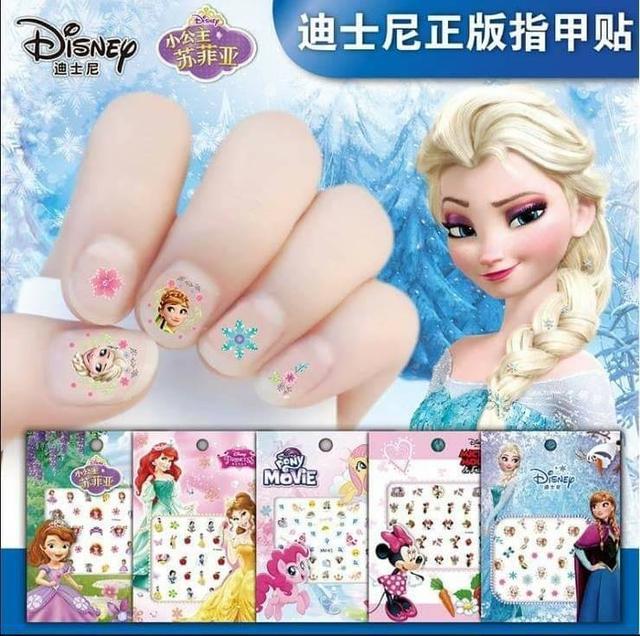 兒童卡通指甲貼10張(限同款)