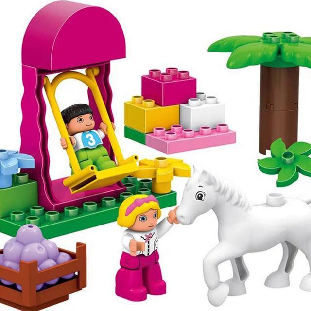 兼容樂高大塊積木大顆粒幼兒益智玩具拼裝城堡LSJ19072504