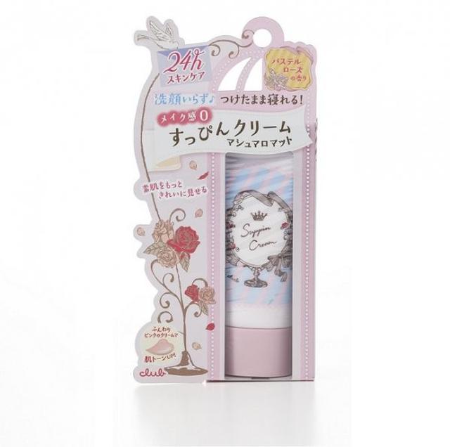 棉花糖柔焦素顏美肌霜30g-粉彩玫瑰香