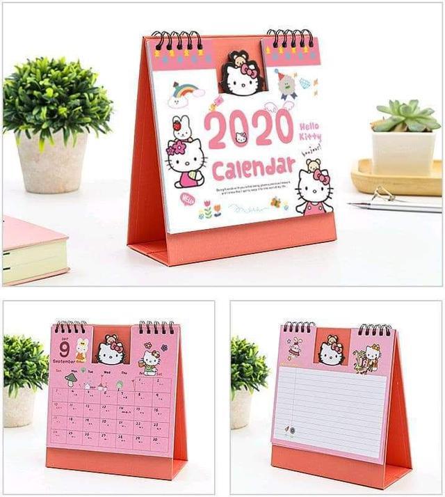 (預購S)可愛卡通2020立型桌曆年曆