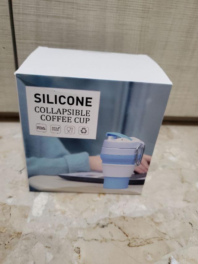 現貨便攜折疊可壓縮口袋隨行杯(350ml) 折疊杯 收納杯
