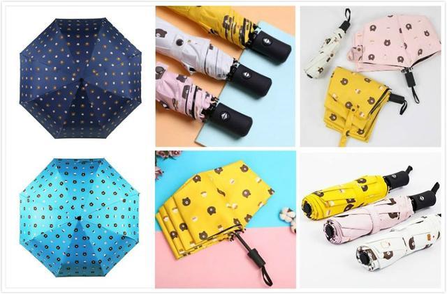 熊大全自動雨傘(5色) 藍色&藏青色沒有現貨