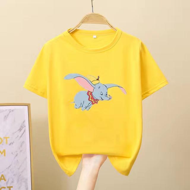 100%純棉潮童裝女童短袖T恤兒童2020夏裝新款中大童上衣寬松半袖